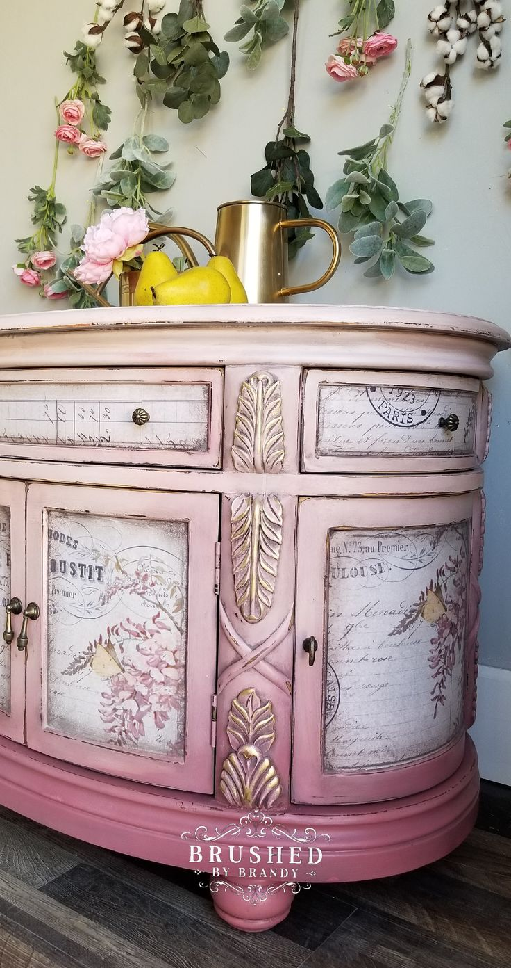 How to Paint a Pink Piece - Dixie Belle Paint Company