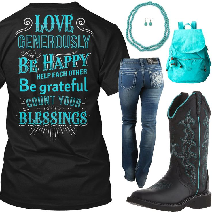 *StitchFix**Shirt, Boots & Pants....Count Your Blessings Outfit - Real Country L...