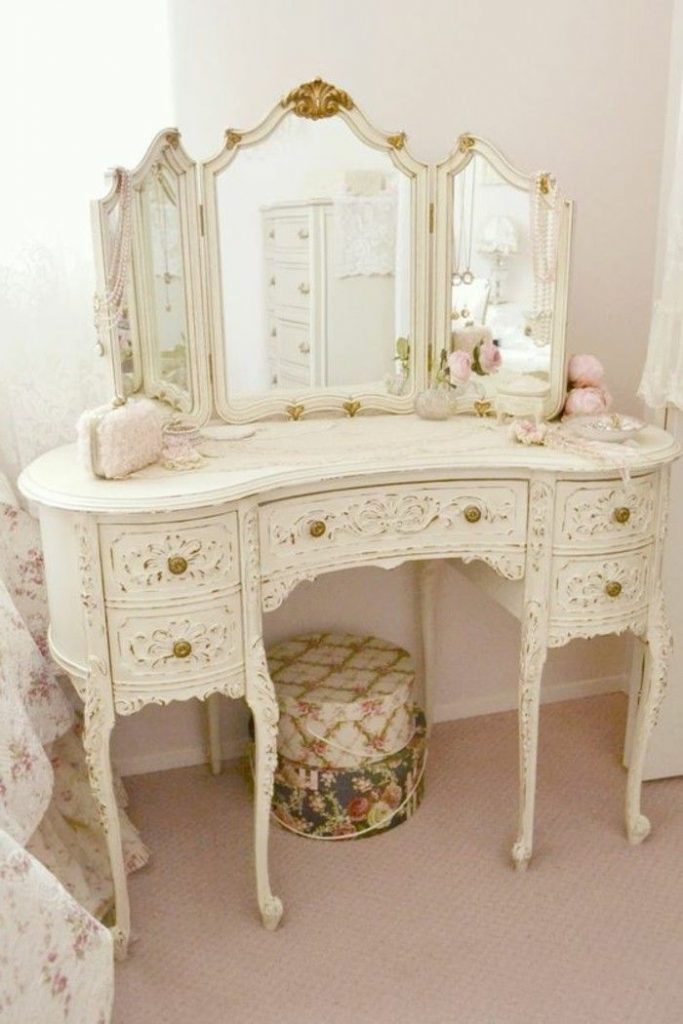 6-dressing table-dressing table-with-mirror-retro-wise-dressing table