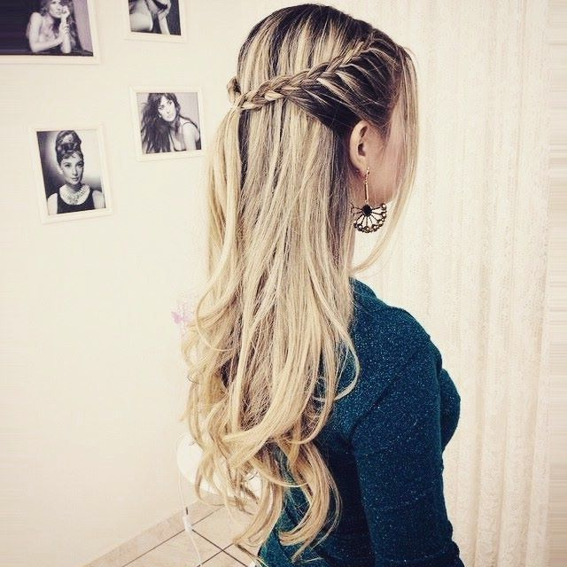 25 simple hairstyle ideas for the school #Simple # hairstyle ideas #school