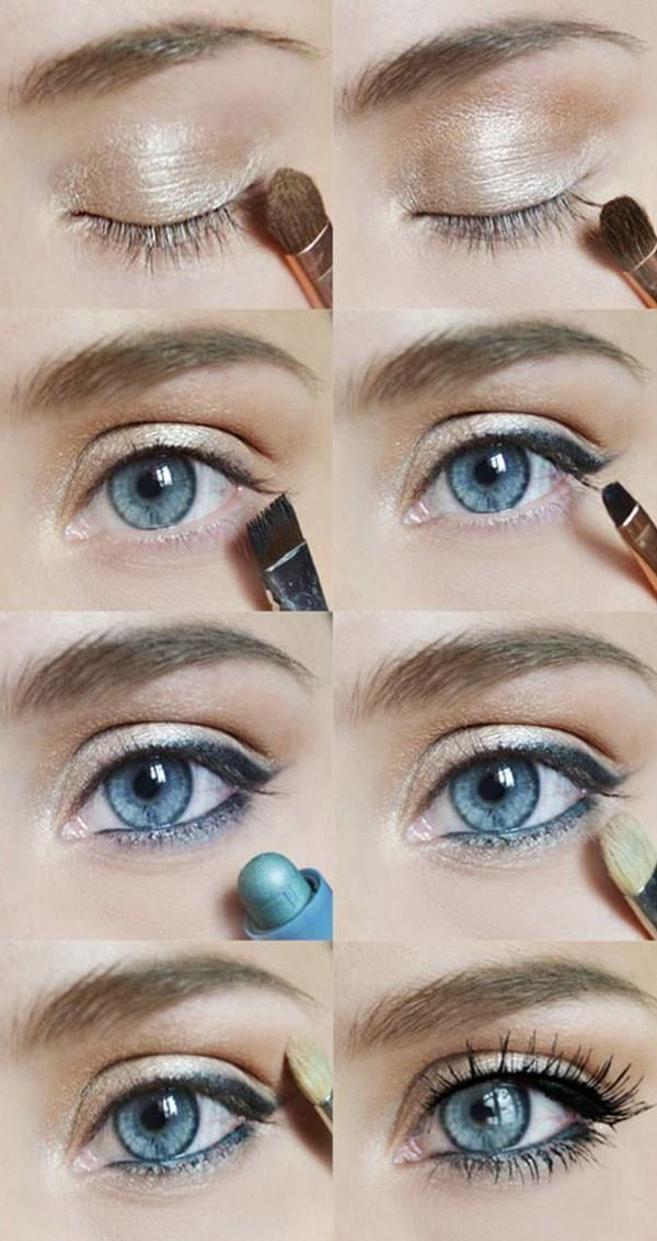 Easy Step by Step Eye Shadow Tutorials for Beginners #beginner # ...