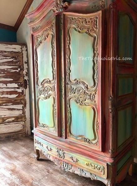 New funky painted furniture ideas boho annie sloan 36 Ideas