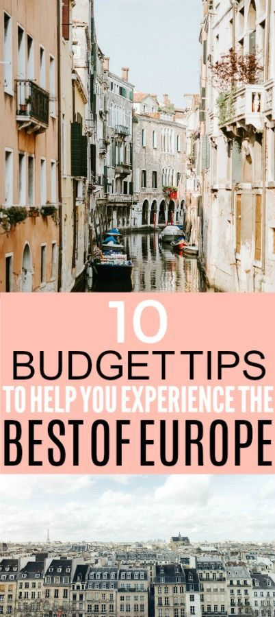 These are some helpful travel tips for Europe. I'll definitely be using this E...