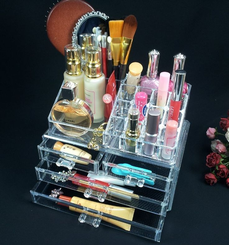 47 How to Arrange Makeup Tools With Multiple Storage Racks
