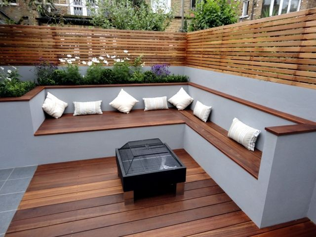 The modern wooden garden fits any garden situation everything for your success