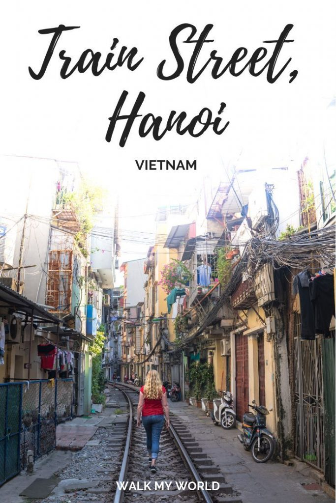Train Street in Hanoi - the incredible street built around the train tracks. Our...
