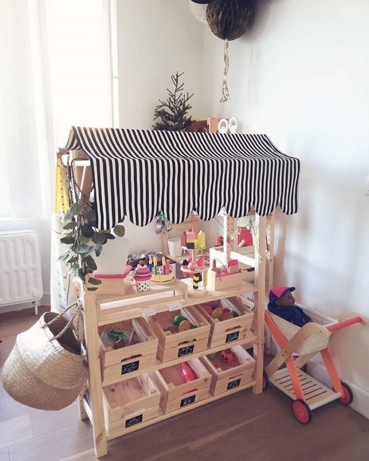 IKEA KNAGGLIG: The 5 best hack ideas for kids