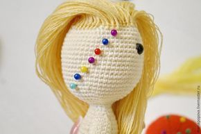 Toy Doll Hair Making,, Step by step for our knitting toy models ...