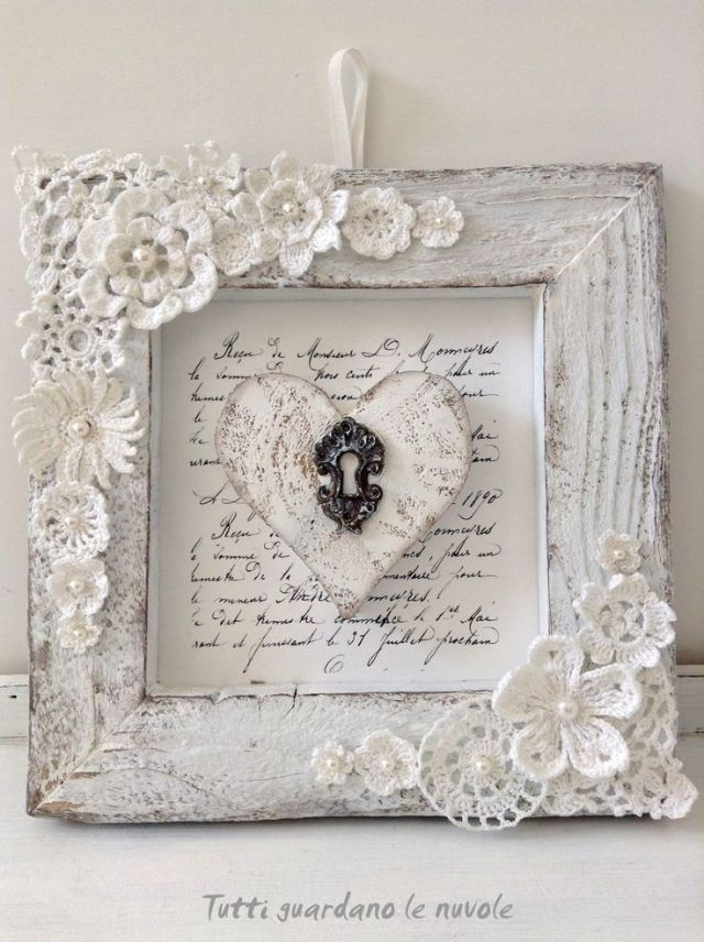 Everyone looks at the clouds - Romantic Shabby Chic #guard #new #romantic # ...