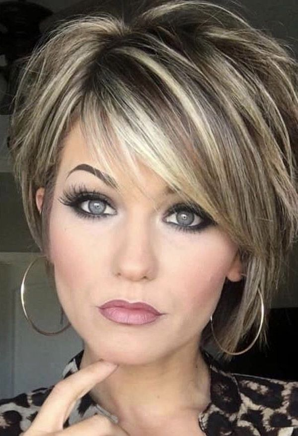 Trending Hairstyles 2019 - Short Layered Hairstyles #Stylish #Layered Hairstyles ...