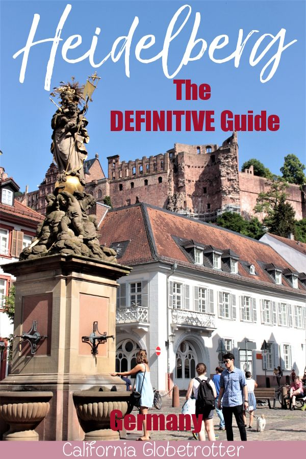 The DEFINITIVE Guide to Heidelberg, Germany | Heidelberg Itinerary | Events & Fe...