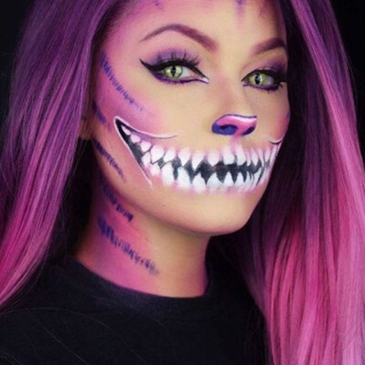 Cool 41 inspirational Halloween makeup ideas to make you scary but cute!