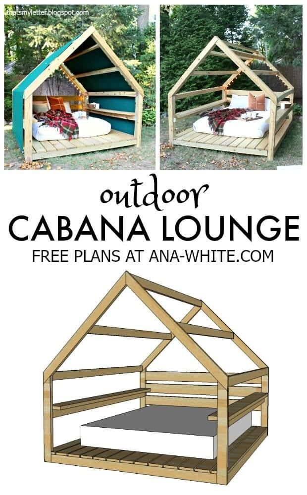 29 DIY Outdoor Furniture Projects Beautify your Outdoor Space # your #mo ...