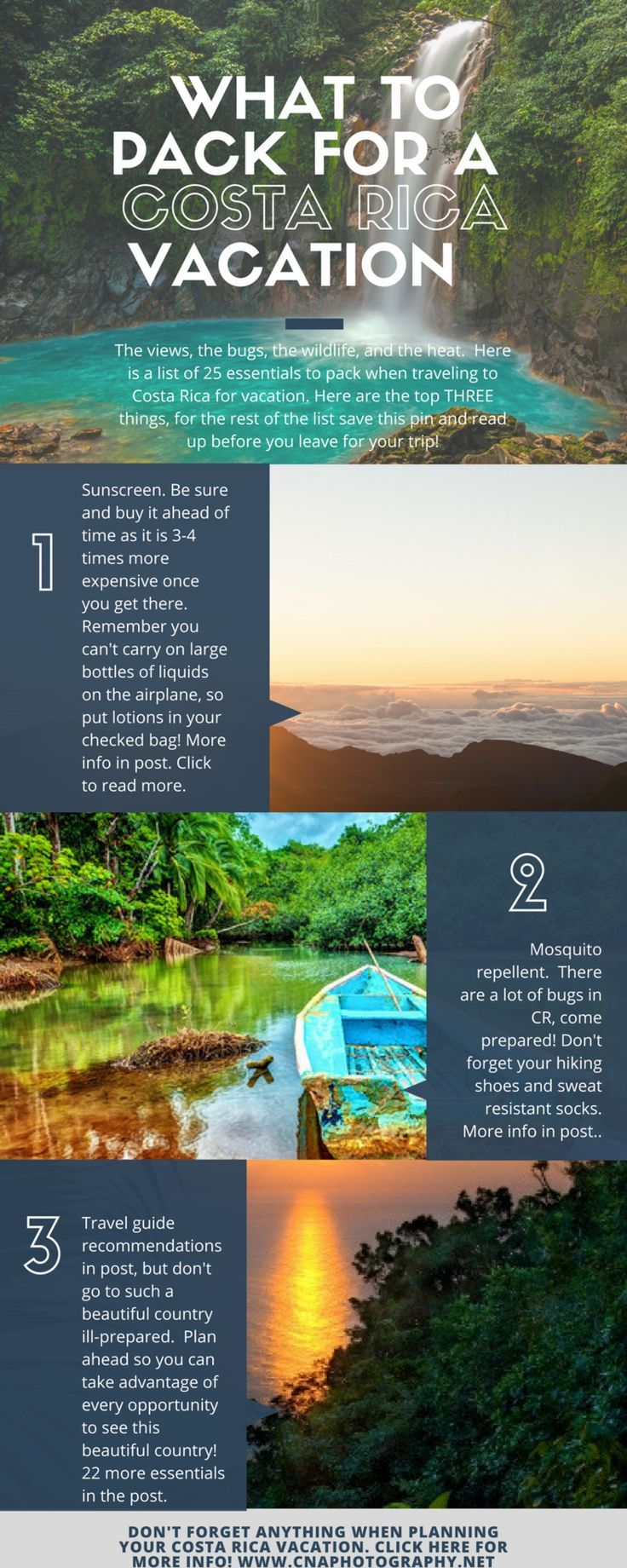 What to Pack for a Costa Rica Vacation #costarica #adventuretravel #travel #wand...