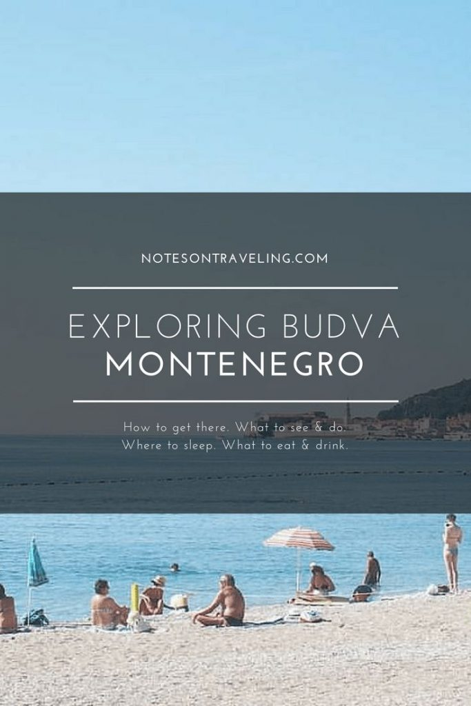 The best way to enjoy Budva, Montenegro, is to find a place in or just outside t...