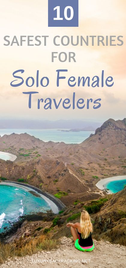 Top 10 Safest Countries For Solo Female Travelers | Female Travel | Travel The W...