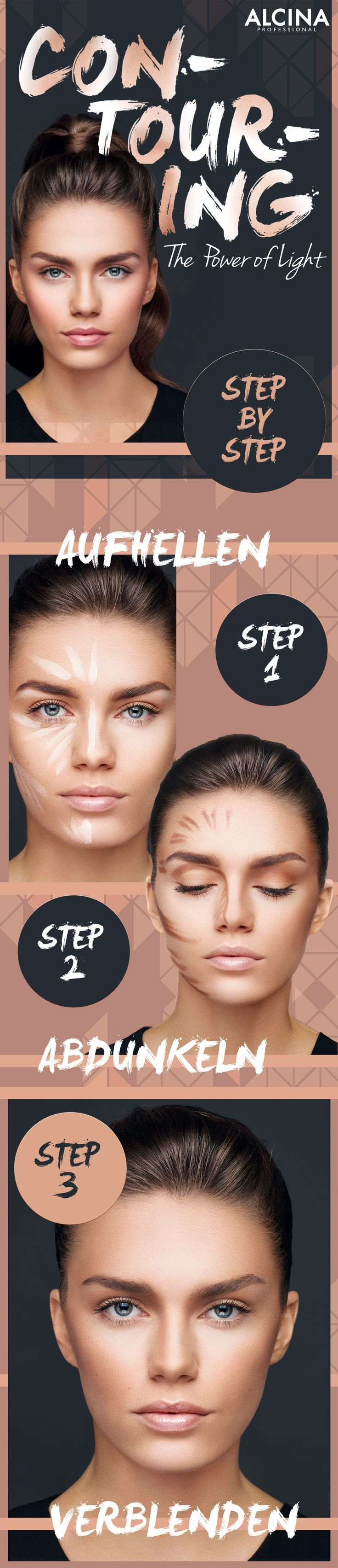 Contouring Guide: How To Contour Your Face Quickly And Easily As A Day M ...