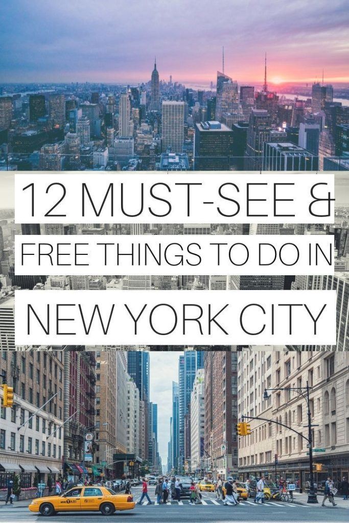 12 FREE THINGS TO DO IN NEW YORK CITY | NEW YORK ON A BUDGET | NEW YORK TRAVEL T...