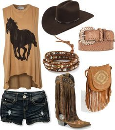 I like my cowboy boots without fringe thank ya very much but everything else is ...