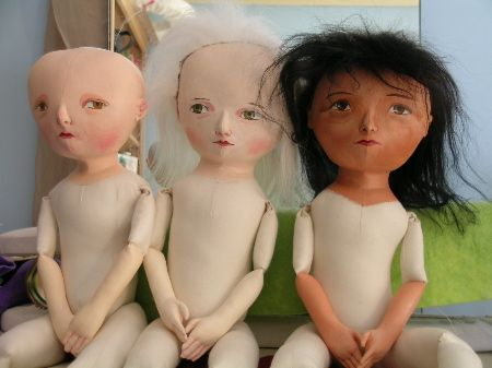 How To Make Doll Hair | Monthly Archives: February 2005   Mimi Kirchner