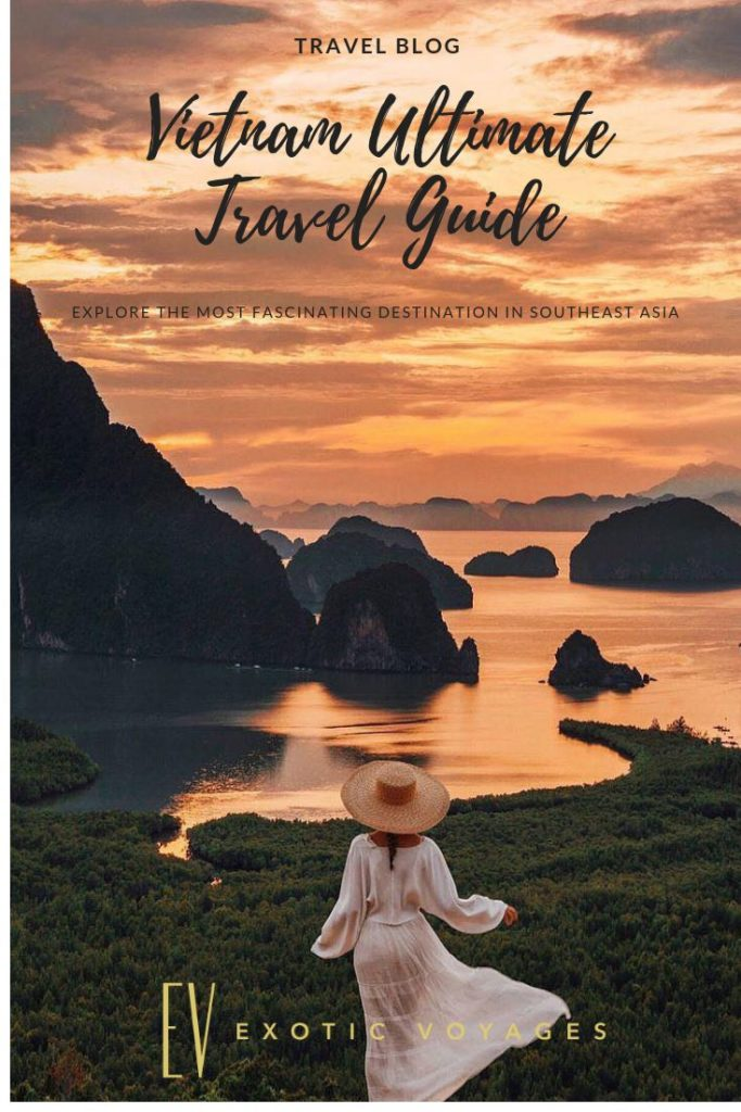 The ultimate guide that'll help you get the most of Vietnam. #vietnam #travel #g...