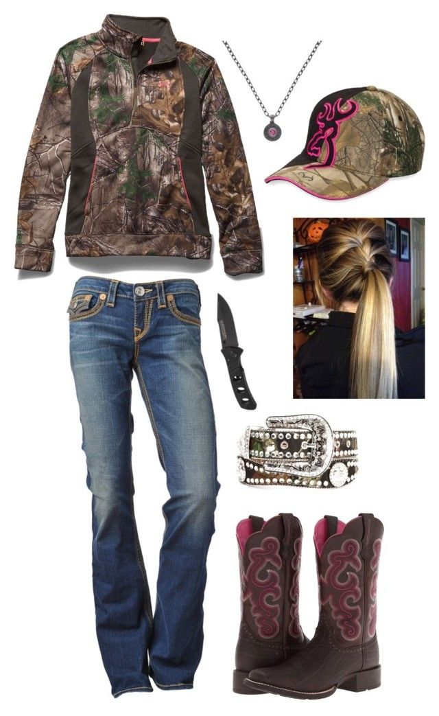 """Untitled #217"" by horselover2409 ❤ liked on Polyvore featuring Under Armour, ..."
