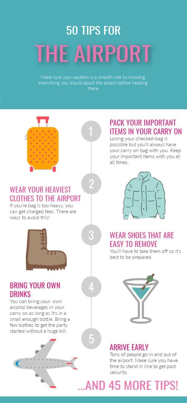 50 Airport Tips & Hacks to Make Traveling Easier | Buy the Plane Ticket
