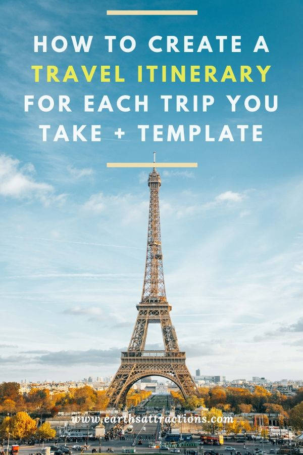 Are you planning a trip? Here are some useful travel tips: discover how to creat...