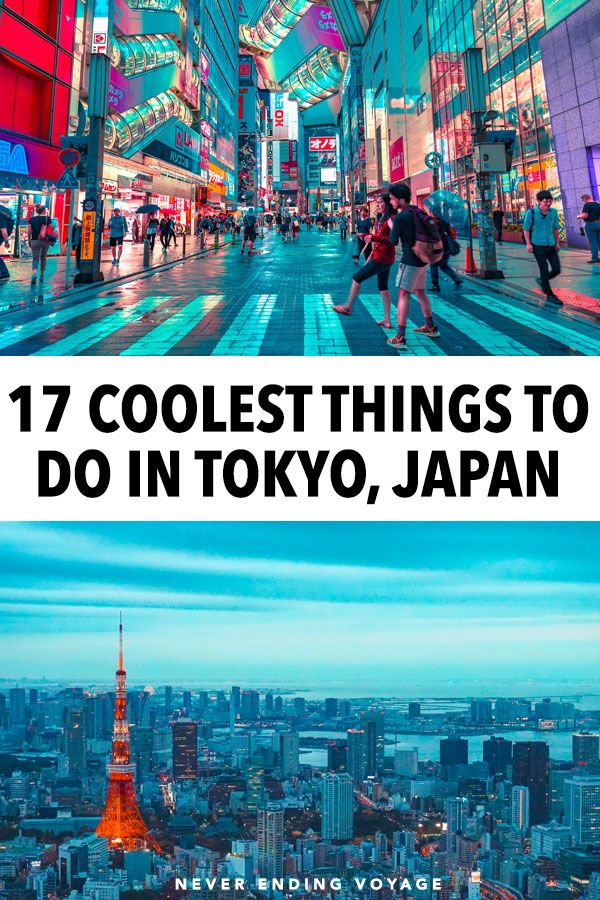 18 Cool Things to Do in Tokyo