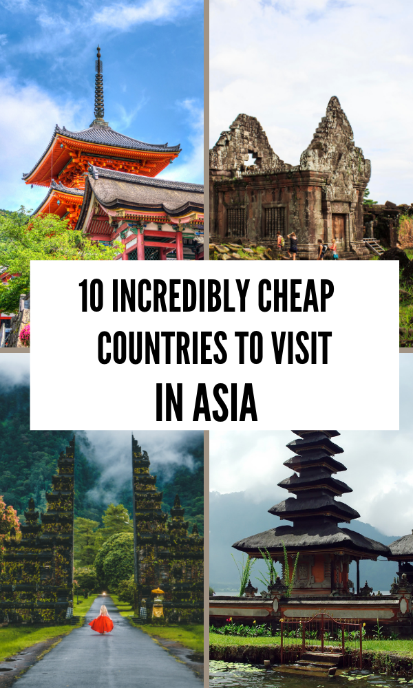 10 Cheapest Asian countries to visit - The adventurous feet