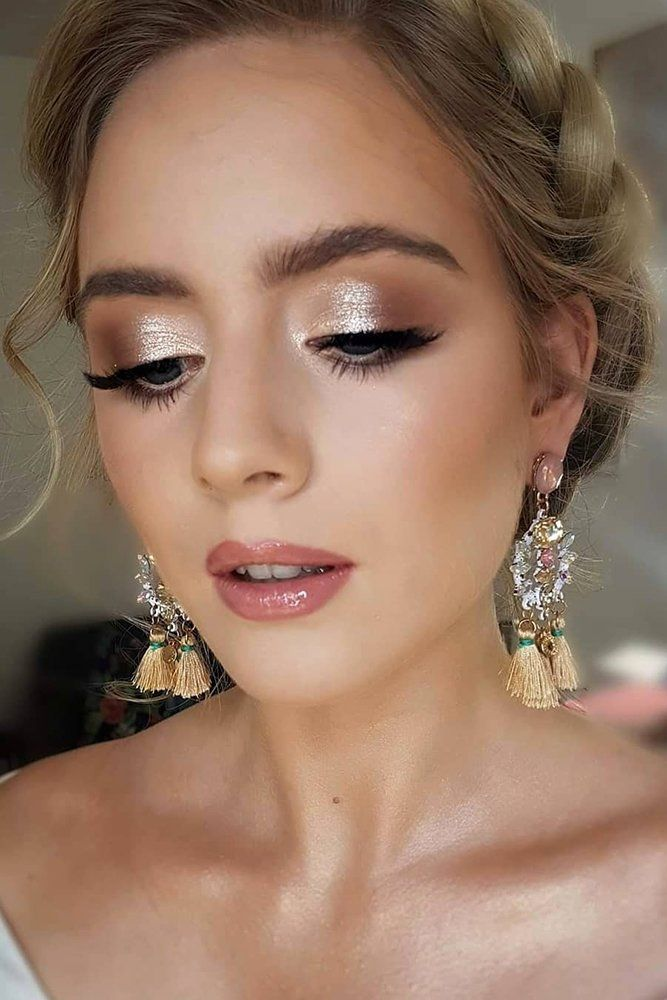 30 Magical Bridesmaid Makeup for Every Woman Wedding Forward