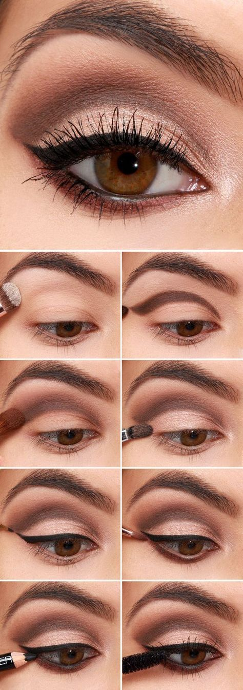 17 super basic eye makeup ideas for beginners - pretty designs makeup #makeup - makeup