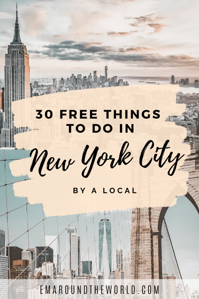 30 Free Things to Do in New York City By a Local